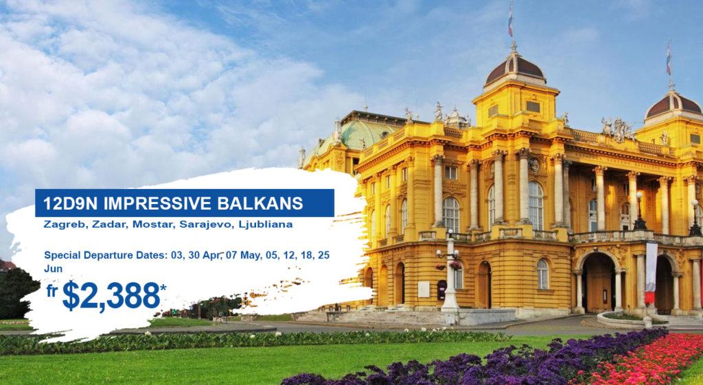 HIS Travel Impressive Balkans