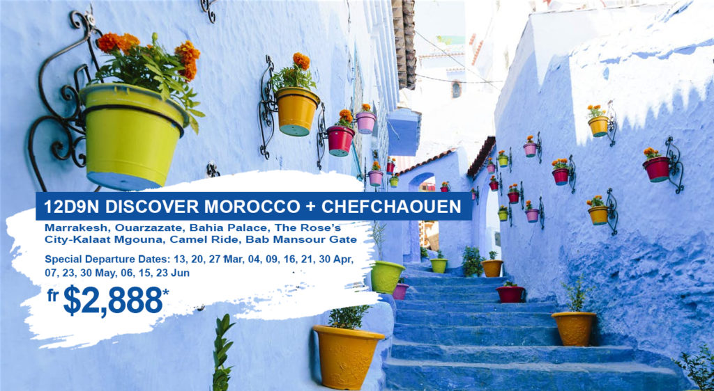 Discover Morocco + Chefchaouen Exotic