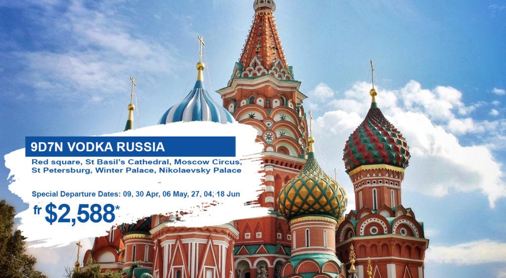 HIS Travel Vodka Russia
