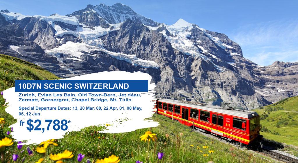 HIS Travel Scenic Switzerland Europe