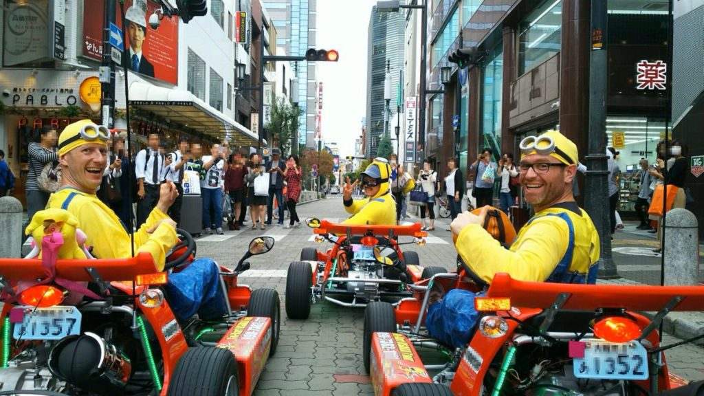 HIS International Travel Go-Kart Osaka Japan
