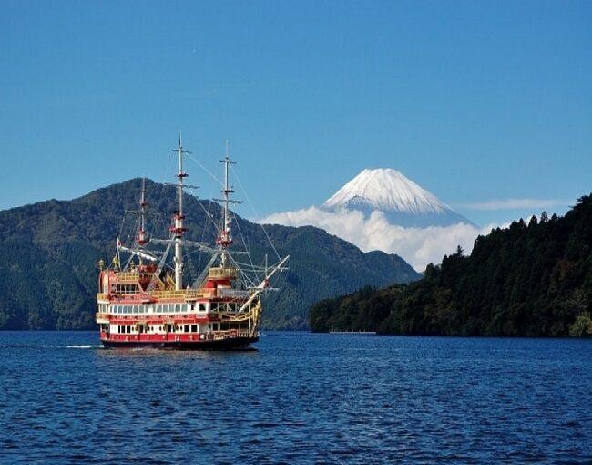 Tokyo Hakone Pirate Ship Cruise