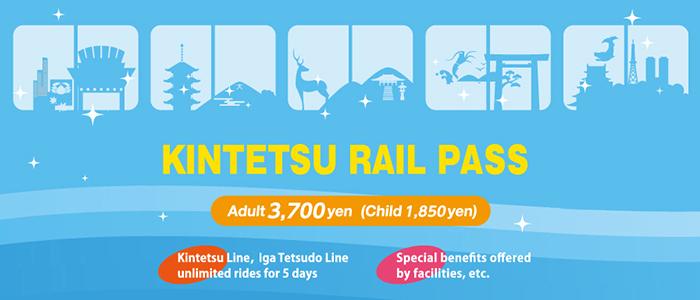 Kintetsu Rail Pass Price Japan