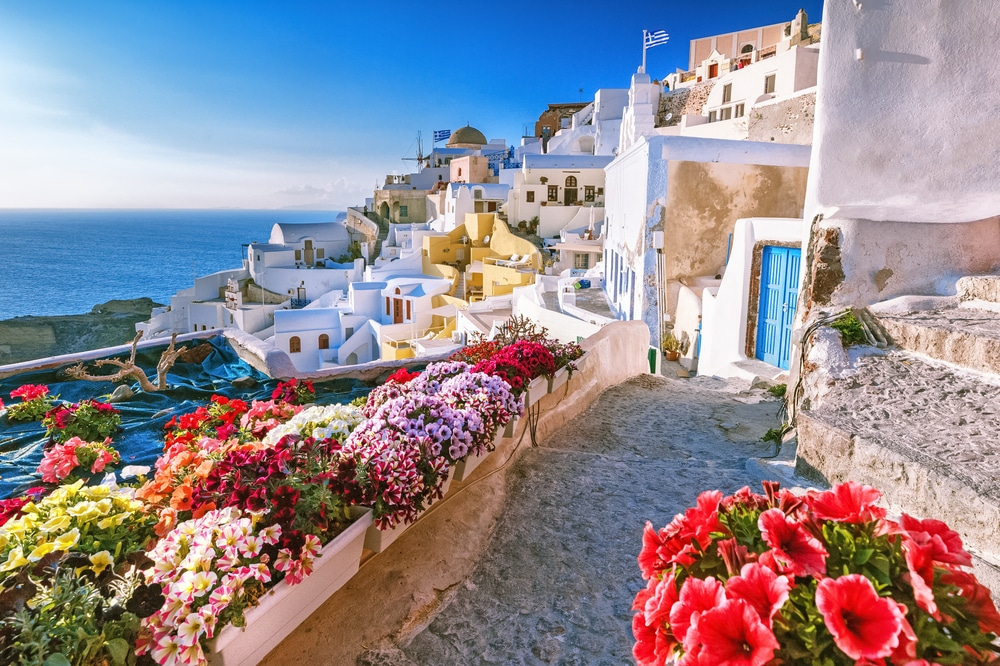 Oia Village Greece