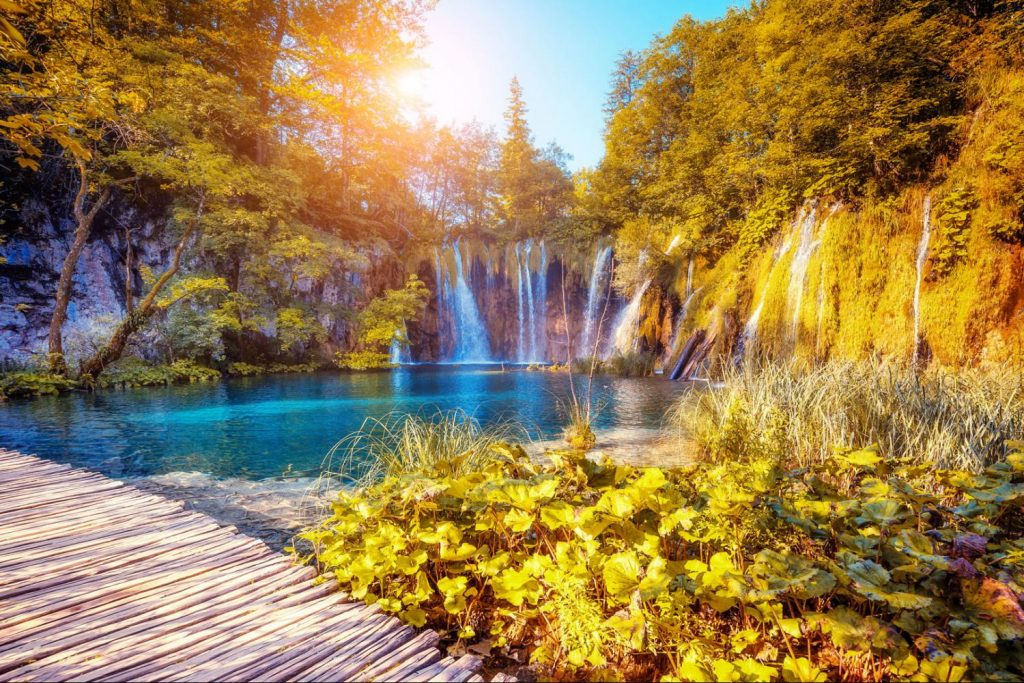 Plitvice Lakes National Park Balkans