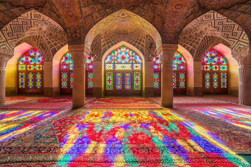 Shaki Khans summer palace Caucasus