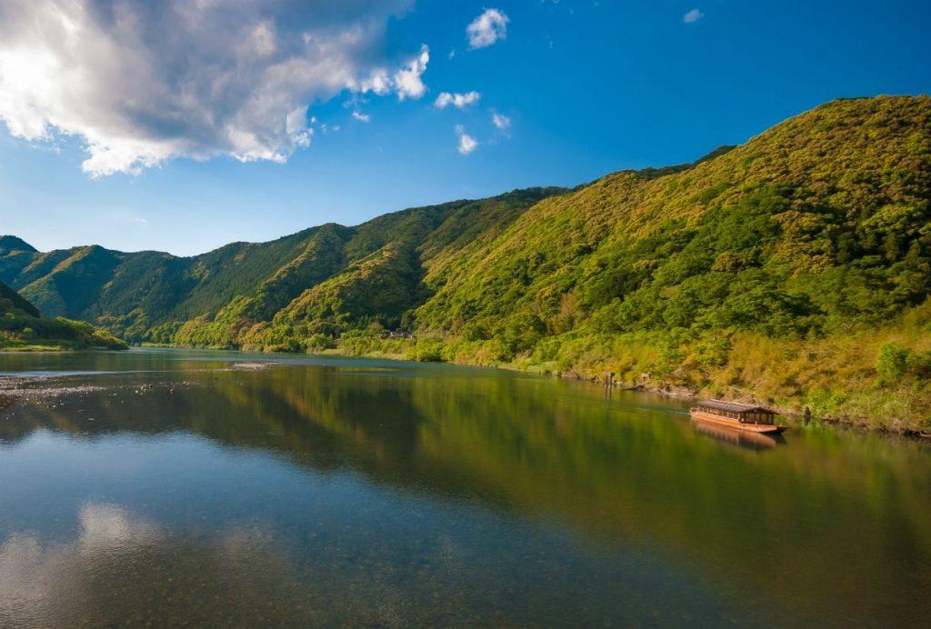 Kochi Shimanto River Shikoku