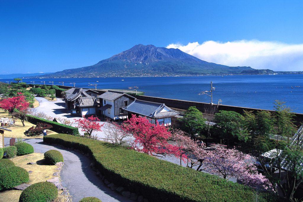 Senganen Garden Kagoshima Kyushu Japan