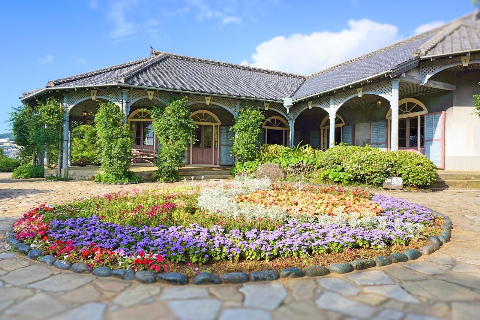 Kyushu Nagasaki Glover Garden Japan