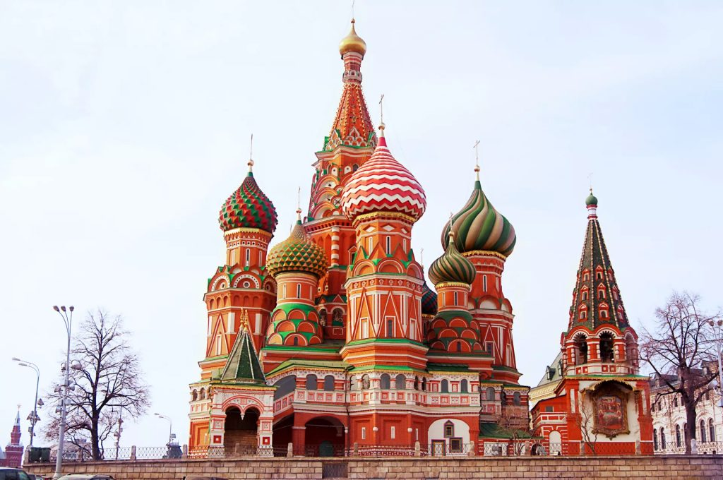 St Basil's Cathedral Russia HIS Travel