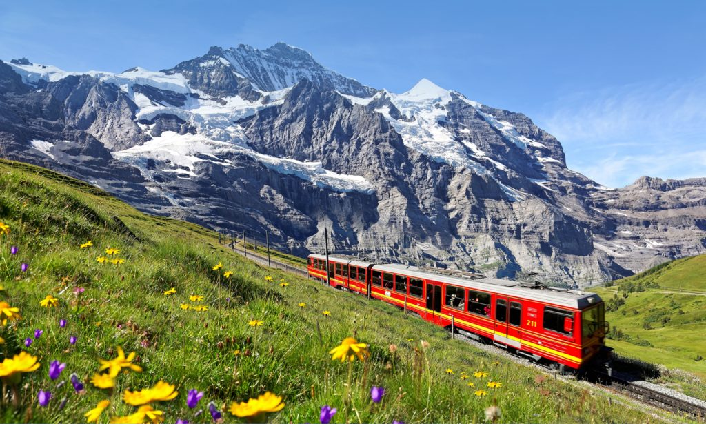 HIS Travel Scenic Switzerland Train