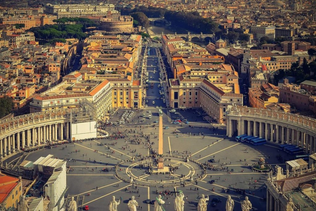 HIS Travel Europe Vatican Italy
