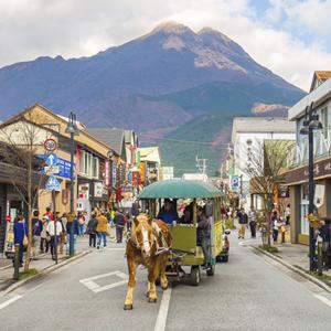 Japan Kyushu Yufuin Village
