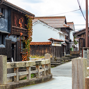 HIS Travel Japan Tottori White Wall Storehouses