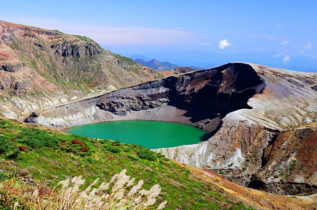 HIS Travel Japan Tohoku Zao Crater Okama