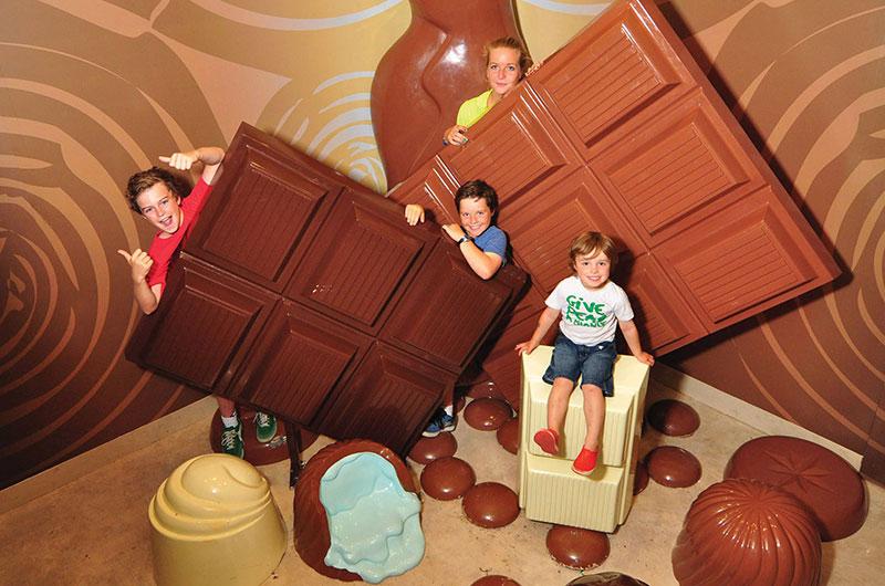 HIS Travel Victoria Australia Phillip Island Chocolate Factory