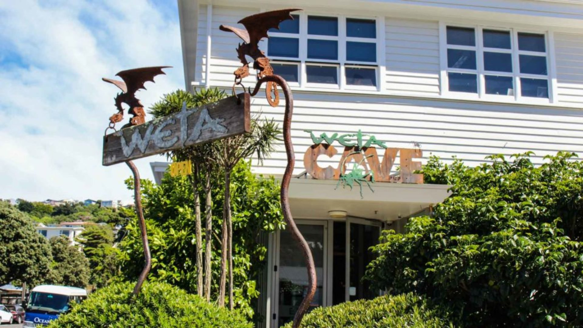 HIS Travel New Zealand North Island Wellington Weta Cave