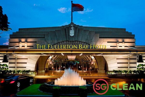 HIS Travel Singapore Staycation The Fullerton Bay Hotel Exterior
