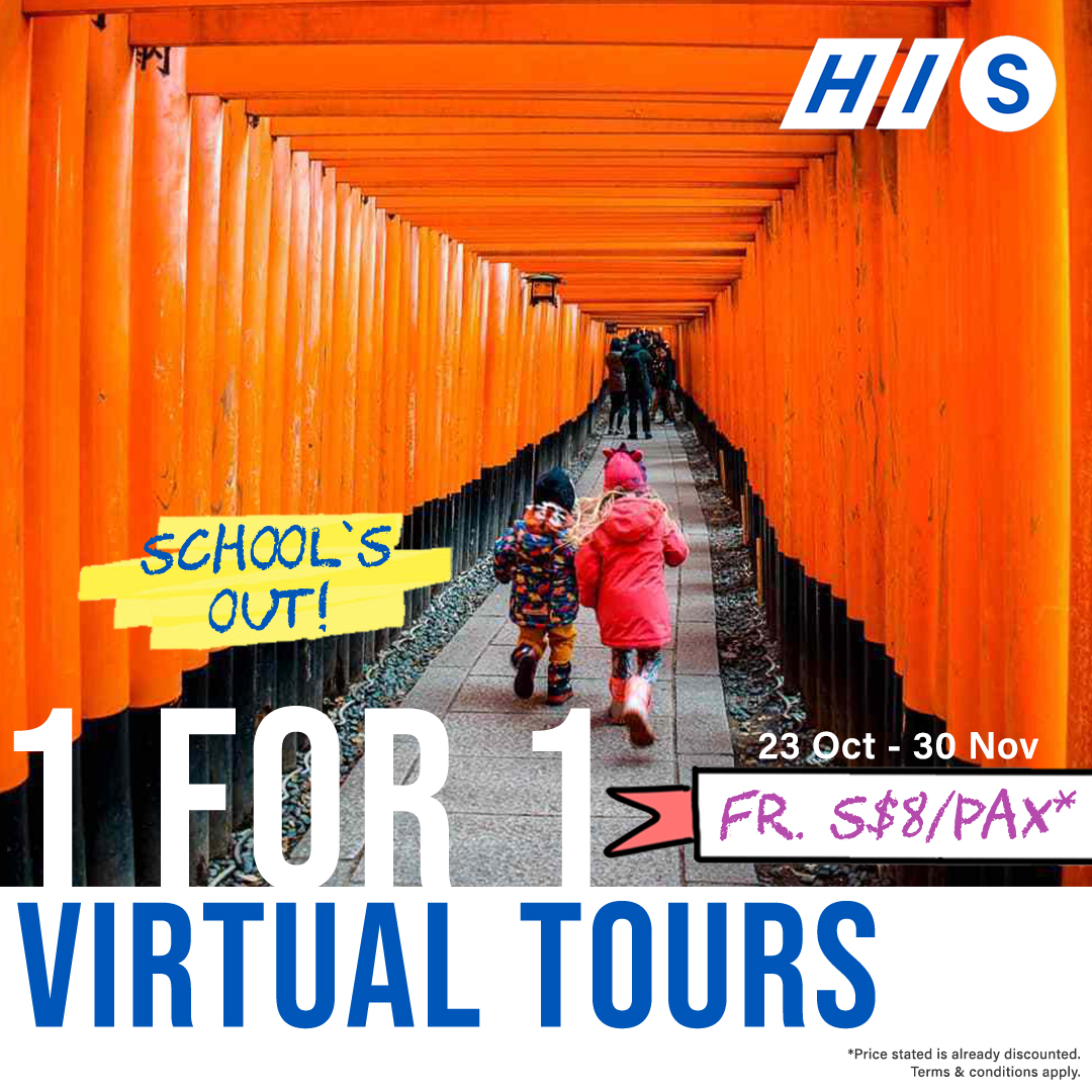 Japan Virtual Tour 1 for 1