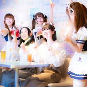 Japan Akihabara Maid Cafe Virtual Tour