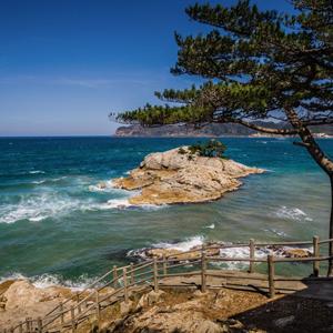 HIS Travel Tottori Virtual Tour Uradome Coast Japan