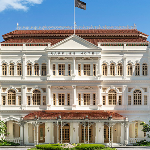 Raffles Hotel Singapore Staycation Local